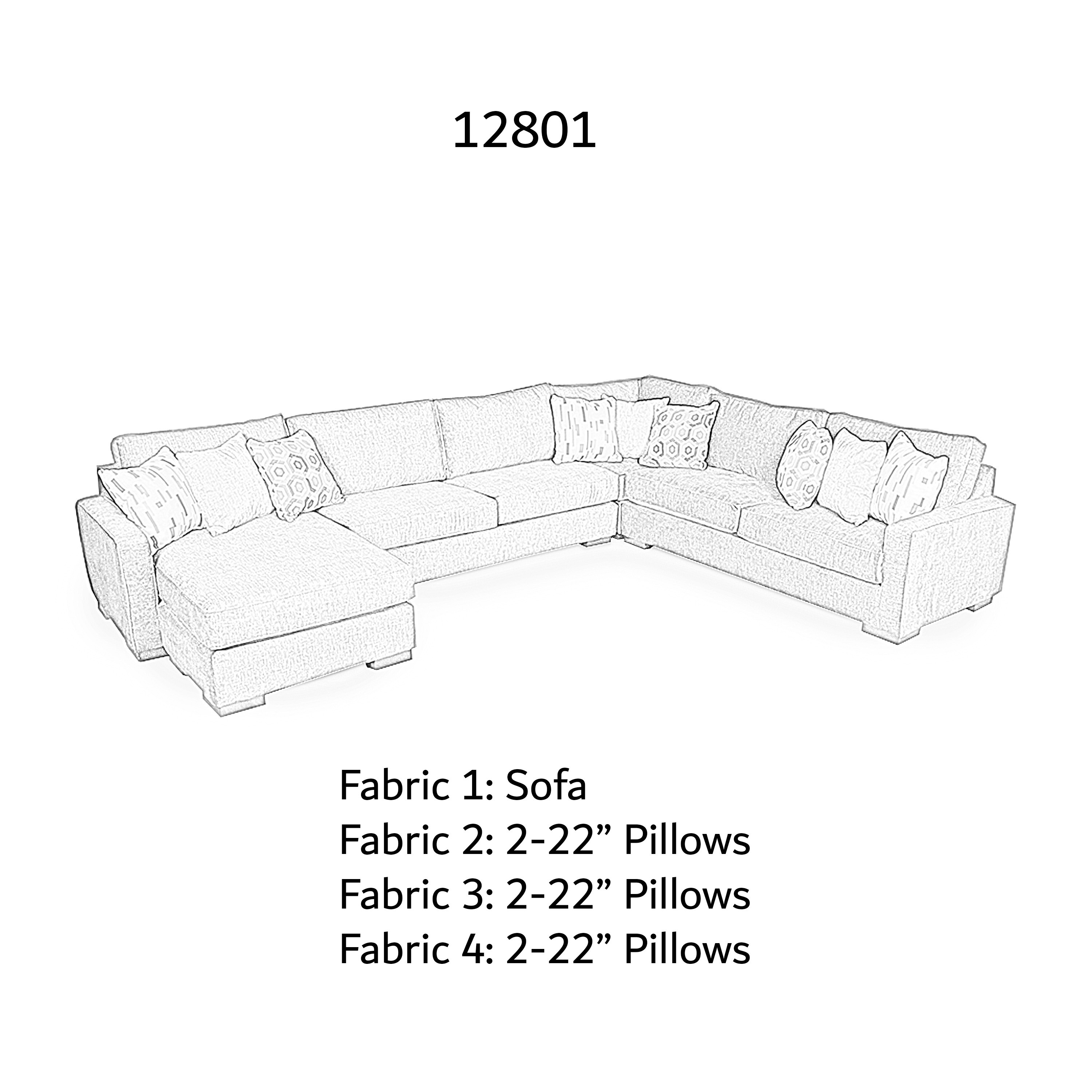 12801 Fabric Schematic on