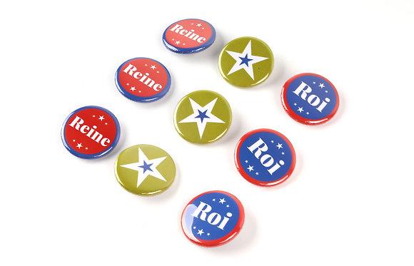 Badges TAdam x 3 pas