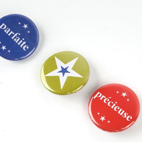 Badges Tadam x6