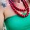 Thumbnail: Chapelet sautoir TAdam rouge
