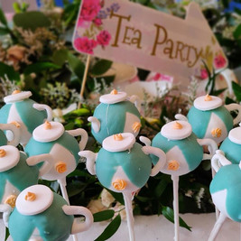 What a beautiful day for a Tea Party!! T