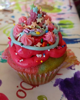 The most beautiful cupcake ever eaten...