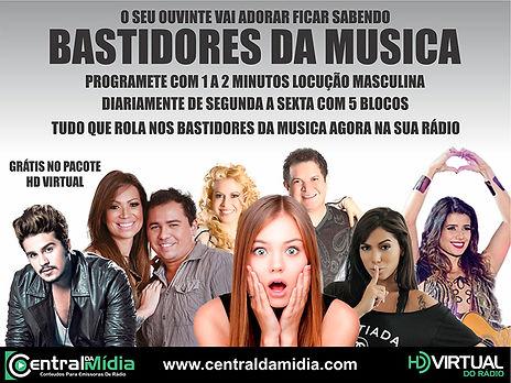 BASTIDORES DA MUSICA
