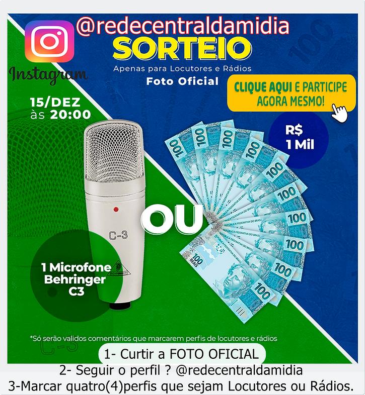 SORTEIO CENTRALDAMIDIA
