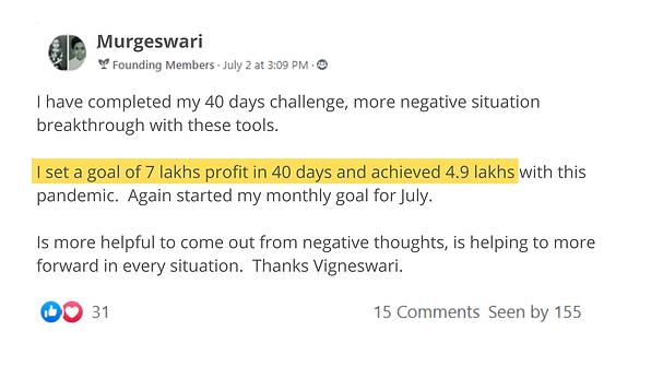08 - Murugeswari - 40 day goal.png