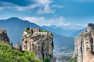 The Meteora is a rock formation in centr
