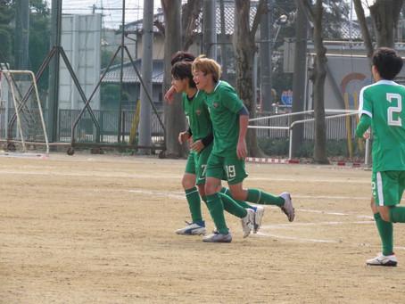 1月6日(水)VS桶川高校 TRマッチ試合結果