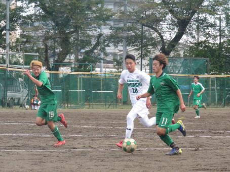 10月24日(土)VS浦和北高校 トレーニングマッチ 試合情報