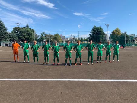 10月18日(日)VS川口東高校 トレーニングマッチ 試合結果