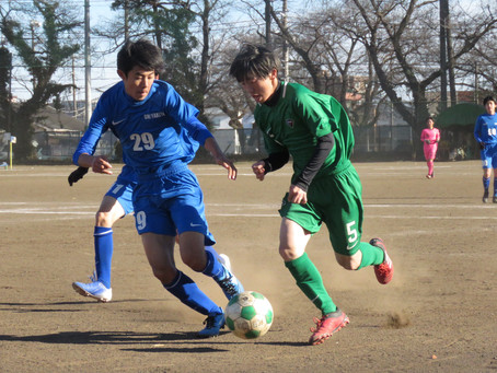12月20日(日)VS大宮北高校 TRマッチ試合結果