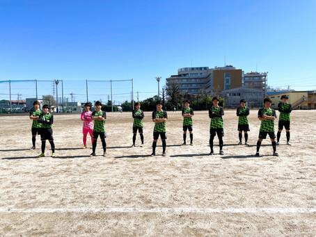 3月14日(日)VS川越初雁高校 令和2年度 西部支部新人大会 1回戦 試合結果