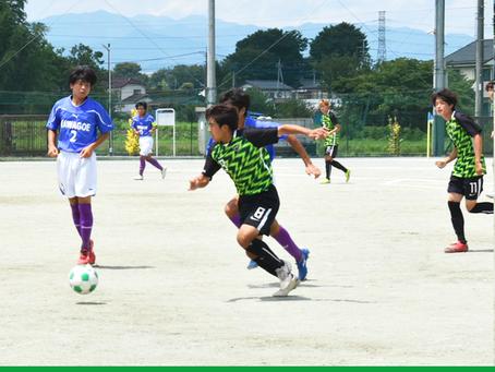 8月2日(月)高円宮杯 JFA U-18 W2-B VS川越 試合結果