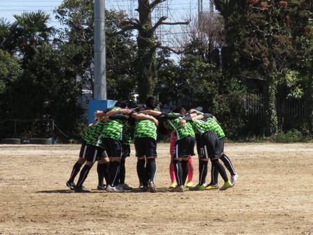 3月26日(金)VS浦和学院高校 TRマッチ試合情報