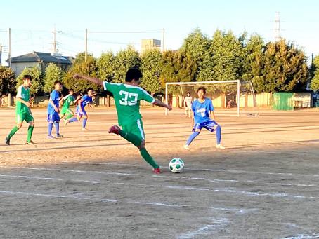 11月21日(土)VS市立川越高校 Castilla 西部独自リーグ 試合結果