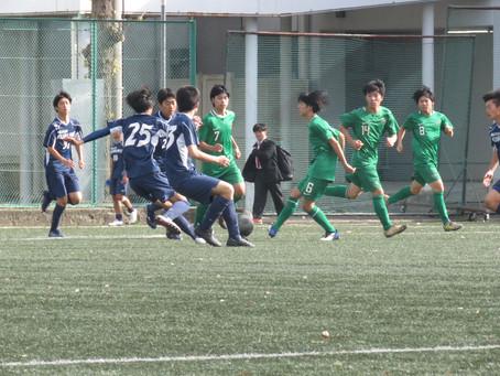 11月23日(月・祝)VS都立東久留米総合高校 トレーニングマッチ 試合結果