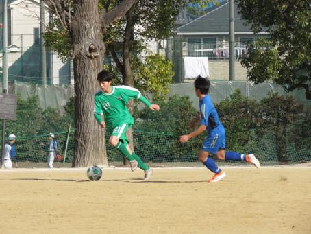 12月19日(土)VS県立浦和高校 TRマッチ 試合結果