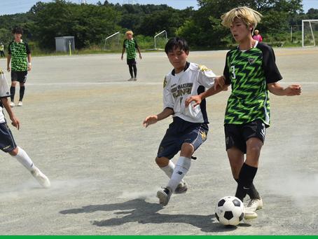 7月22日(木・祝)高円宮杯 JFA U-18 W2-B VS西武文理Ⅱ 試合結果