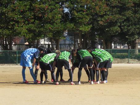 11月23日(月・祝)VS都立東久留米総合高校 トレーニングマッチ 試合情報