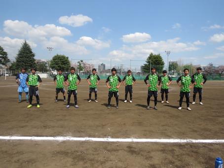 4月3日(土)VS川越南高校 2021 U-18 W2-B LEAGUE 第1節 試合結果