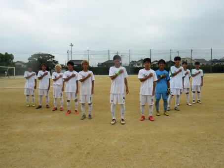 8月23日(日)VS川口東高校 トレーニングマッチ 試合結果