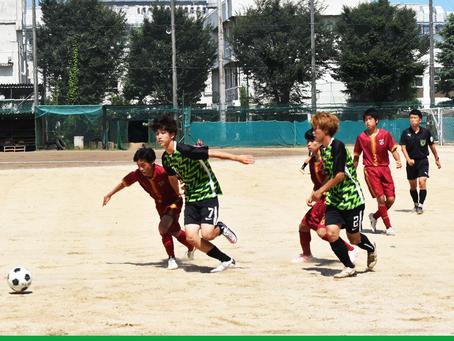 7月17日(土)高円宮杯 JFA U-18 W2-B VS朝霞 試合結果