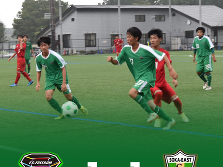 8月17日(火)2021 Training Match VS草加東 試合結果