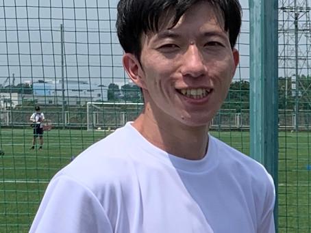青木英助トレーナー新加入のお知らせ