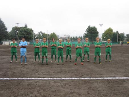9月27日(日)VS細田学園高校 トレーニングマッチ 試合結果
