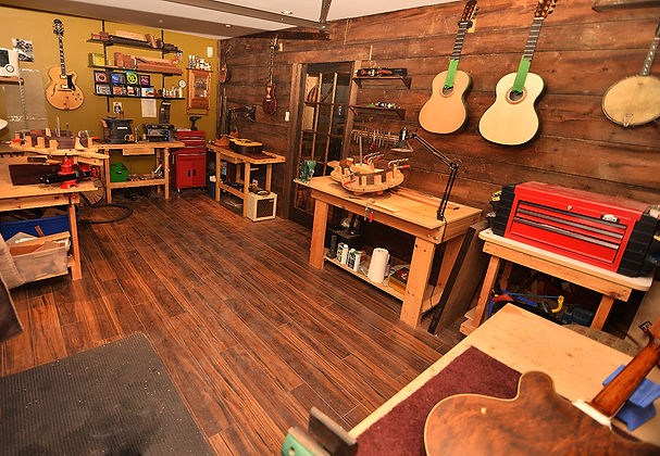 Atelier de lutherie guitare Migneault