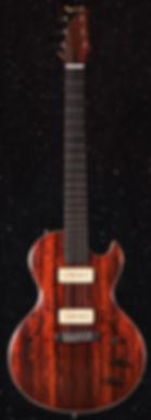 Guitare électrique Migneault, luthier Montréal