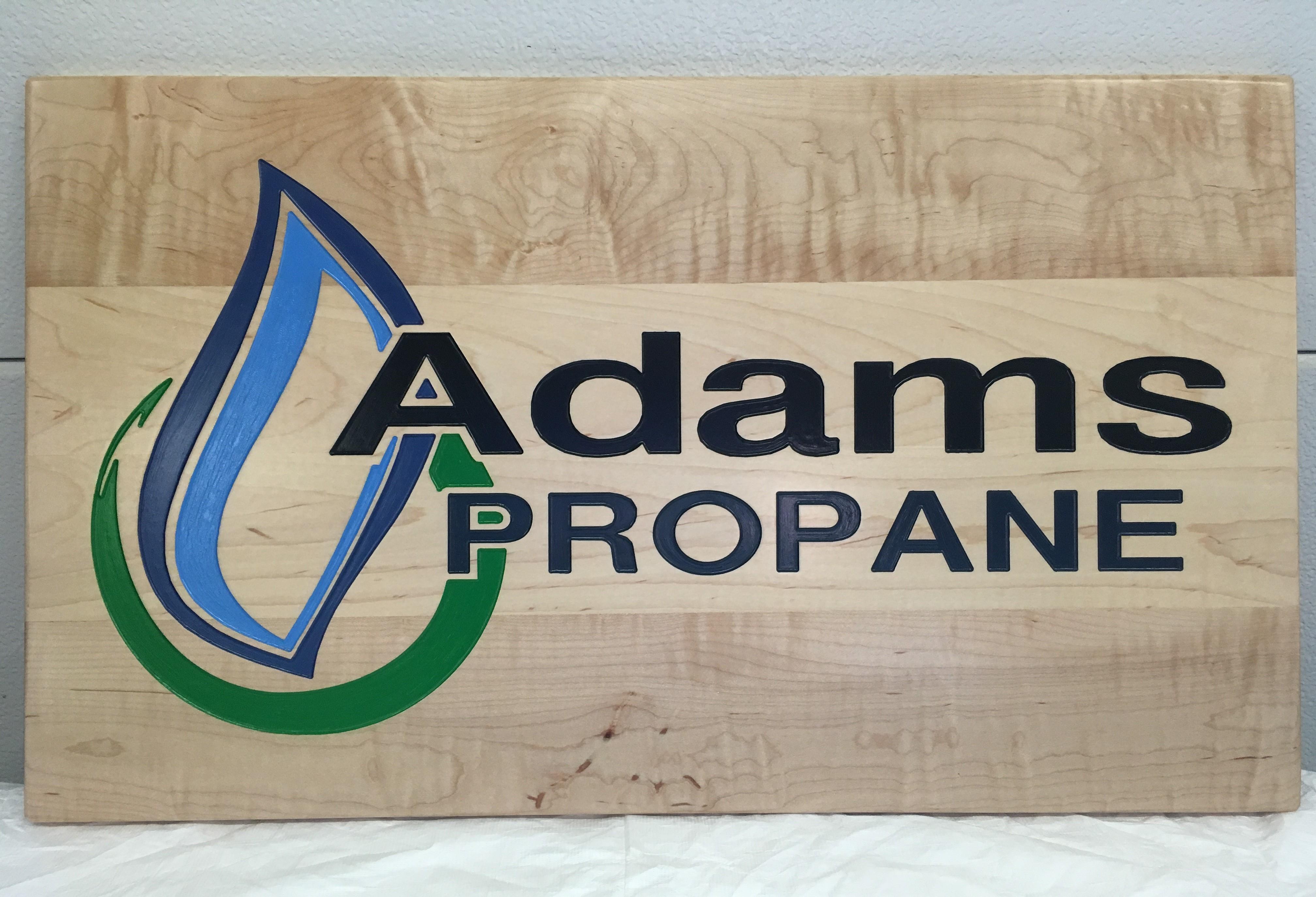 Company Logo Plaque