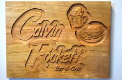 Bar & Grill Plaque