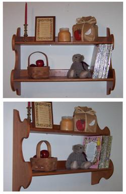 Double Wall Shelves