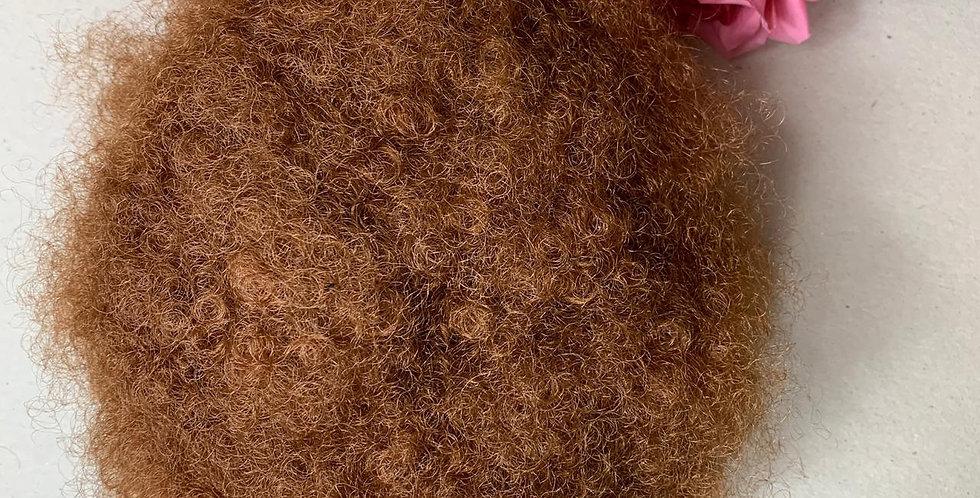 Cabelo Sintético afro mel - Peruca