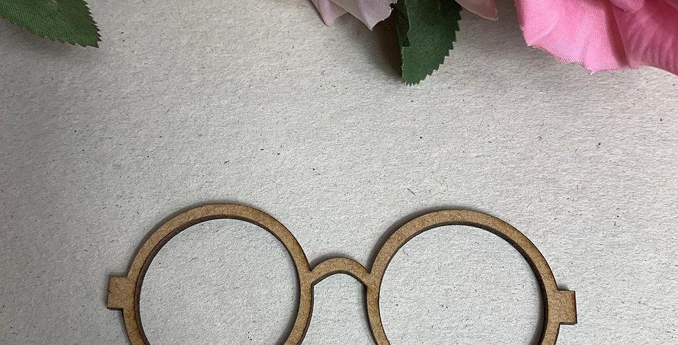 Óculos para Boneca em MDF - 11x4 cm