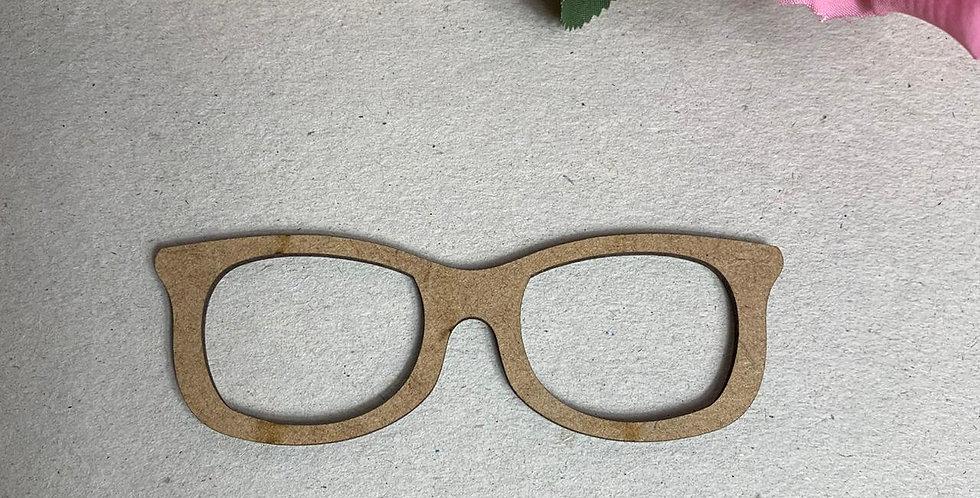 Óculos para Boneca em MDF - 11x4