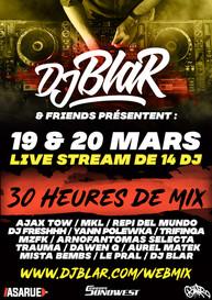 webmix djblar & Friends _ 19 et 20 mars 2021