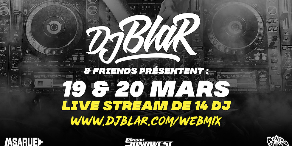 webmix _ djblar & friends en live
