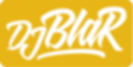 Logo_Dj_Blar___blanc_jaune_rectangle_deÌ