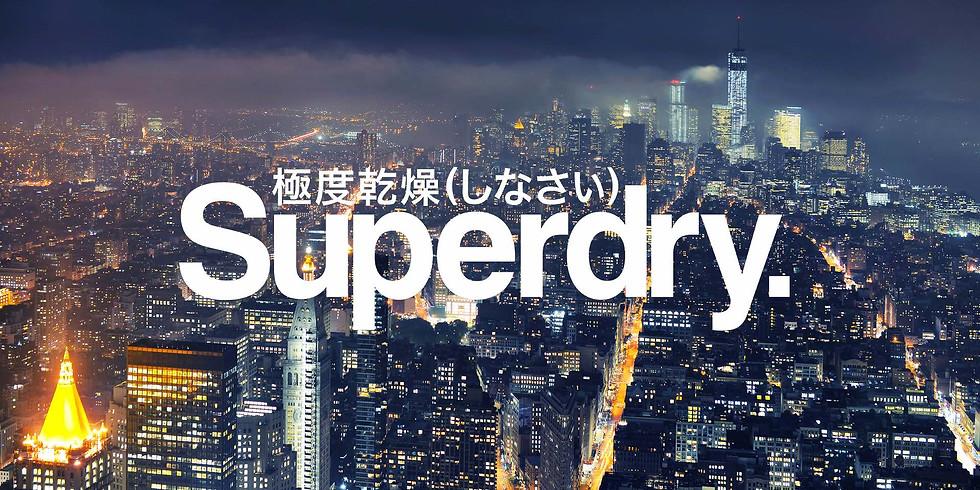 Superdry x Dj Blar
