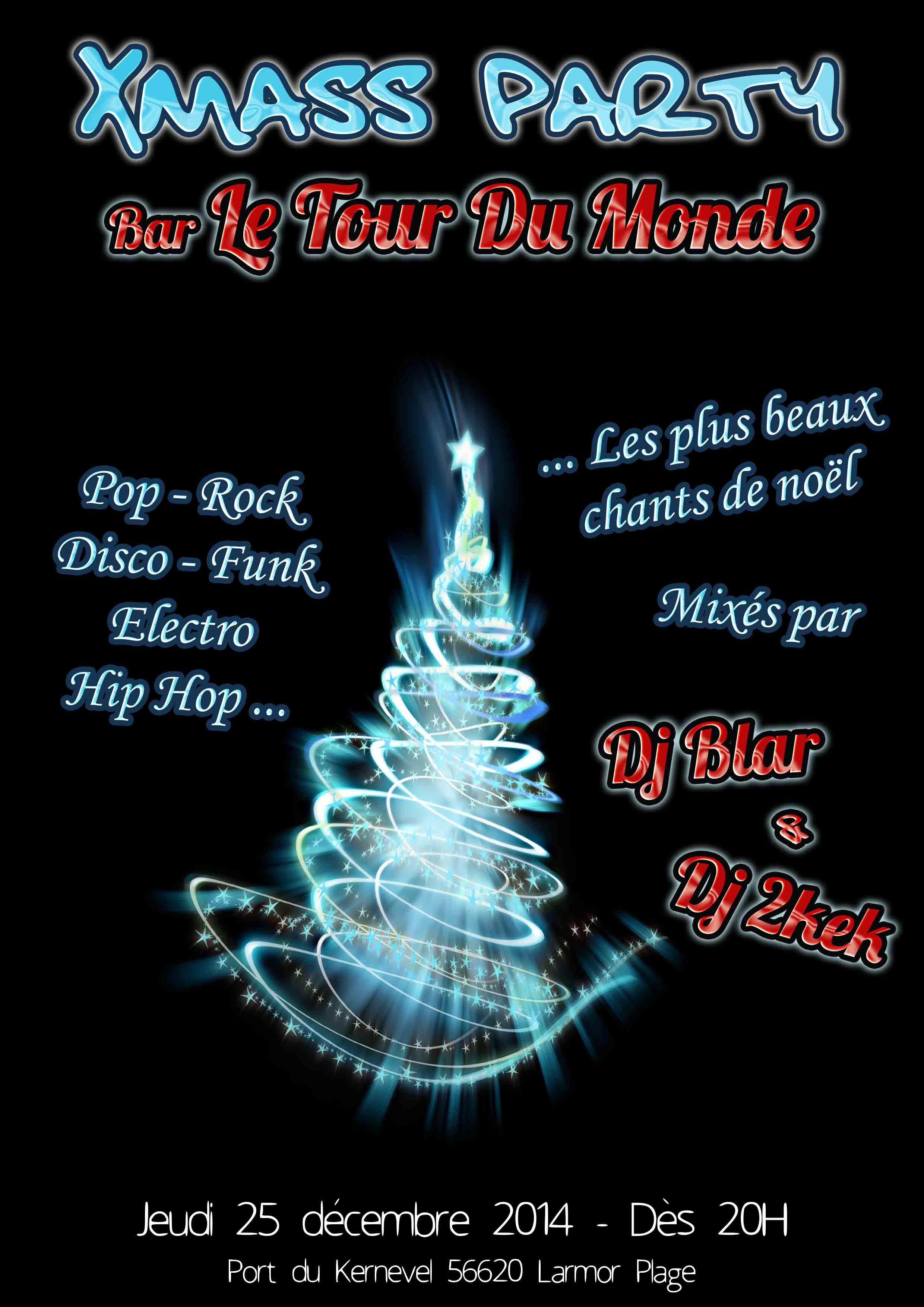 Flyer Tour Du Monde Noel 2014_Dj Blar