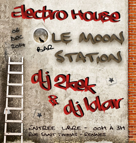 Flyer Moon Station 6 dec 2014_Dj 2kek_Dj Blar