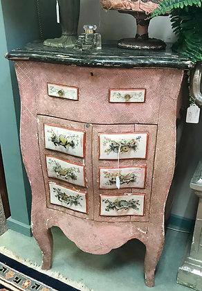 Antique Venetian Two Drawer Commode