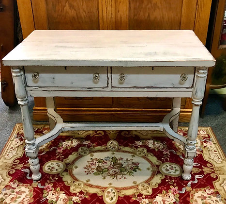 Federal Revival 2 Drawer Work/Side Table