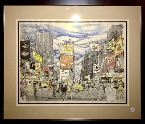 1981's NYC Times Square Scene