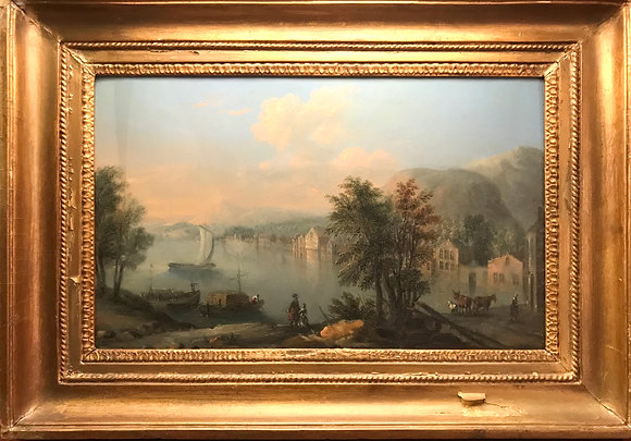 French Pre Revolution 1700's Oil Painting