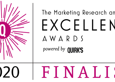 2Europe are finalists at The Marketing Research and Insight Excellence Awards 2020