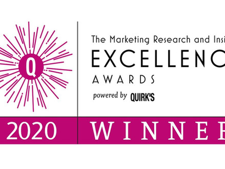 2Europe WIN at The Marketing Research and Insight Excellence Awards 2020!
