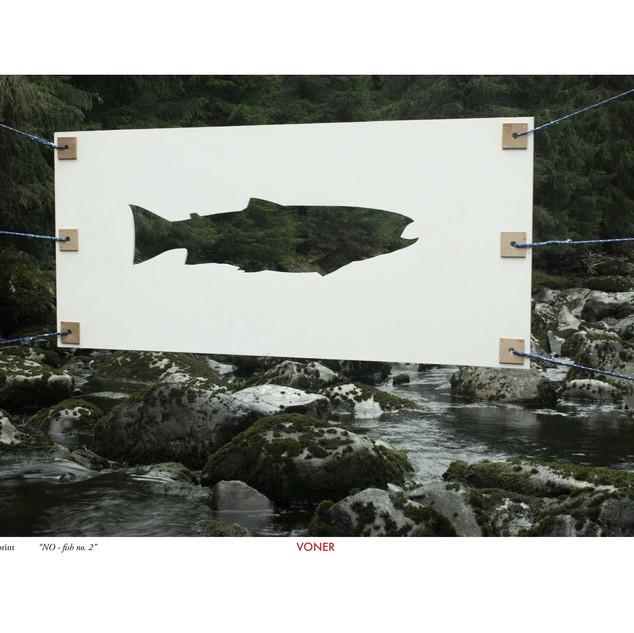 NO fish no. 4 A3 Artprint
