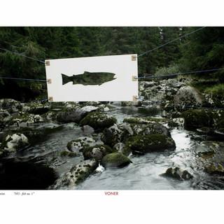 NO fish no. 1 A3 Artprint